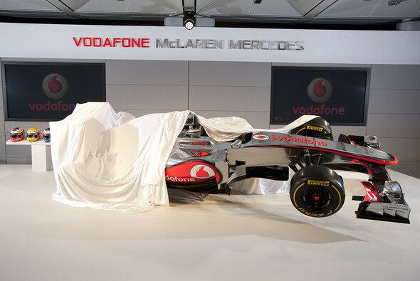 Bei McLaren fällt der Vorhang schon am 31. Januar