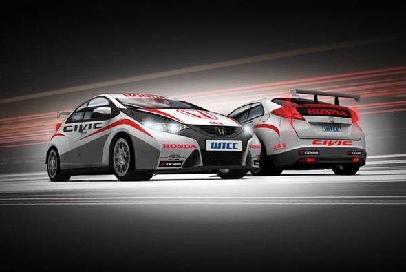 Honda absoliverte Testfahrten auf dem Autodromo di Vallelunga