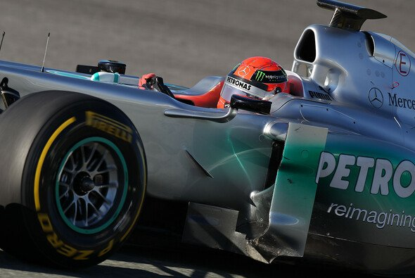 Michael Schumacher rechnet nicht damit, dass das neue Auto gleich ein Titelkandidat ist