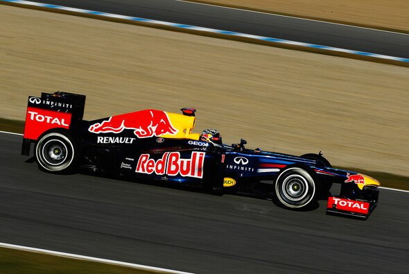Sebastian Vettel fand sich schnell zurecht
