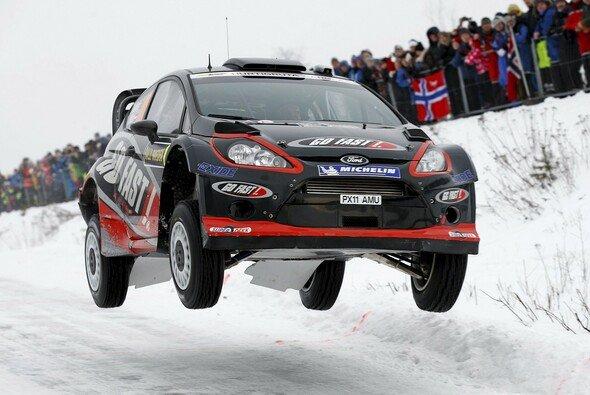 Henning Solberg war zuletzt bei der Rallye Schweden am Start
