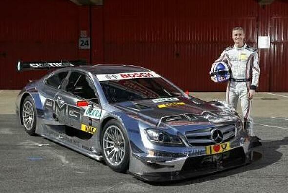 David Coulthard gibt weiter in der DTM Gas - Foto: Mercedes Benz