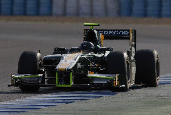 Giedo van der Garde beim GP2-Test in Jerez