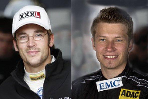 Neue Fahrerpaarung für MS Racing: Maximilian Götz und Sebastian Asch - Foto: MS Racing