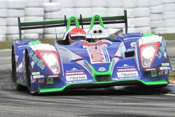 Der neue Bolide aus dem dem Hause Pescarolo wird erst in Le Mans seine Premiere feiern