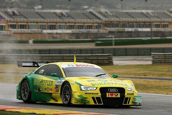 Bestzeit für Mike Rockenfeller im nagelneuen Audi A5 DTM