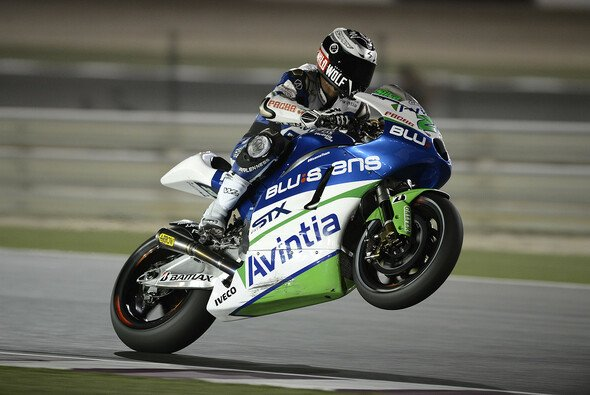 Ivan Silva kann sich das Ergebnis des ersten Jerez-Trainings einrahmen
