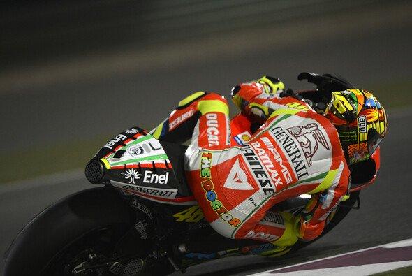 Sitzt Valentino Rossi auch 2013 wieder auf dem roten Biest? - Foto: Milagro
