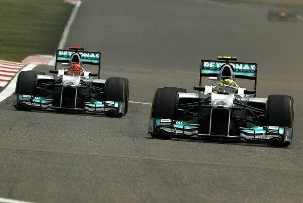 Fahren Nico Rosberg und Michael Schumacher auch 2013 gemeinsam für Mercedes?