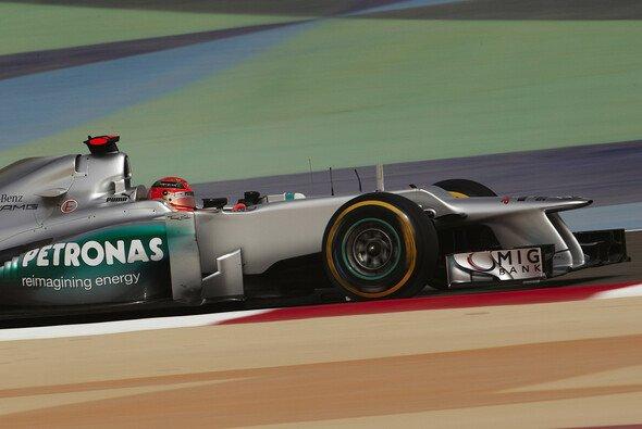 Michael Schumacher schaffte es in Bahrain in die Punkte