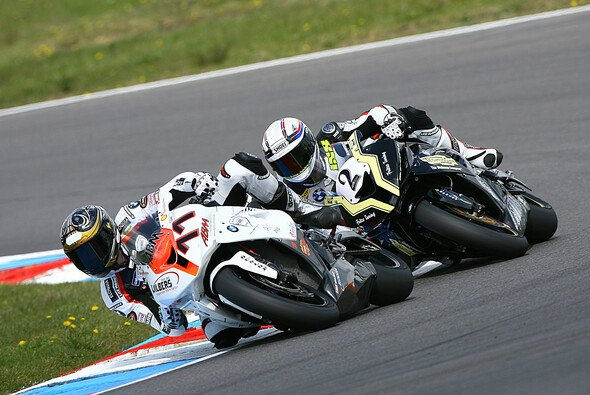 Michael Ranseder kämpfte mit Jörg Teuchert am Lausitzring.