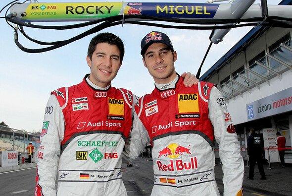 Mike Rockenfeller und Miguel Molina blicken optimistisch nach Valencia