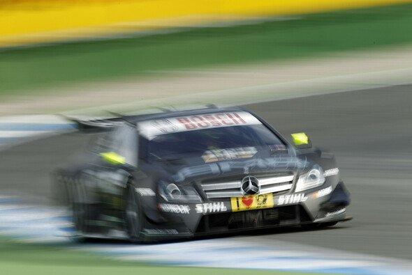 Ralf Schumacher landete im ersten Lauf auf Rang sieben
