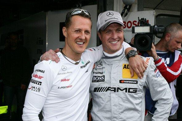 Schumacher/Schumacher beim 24h-Rennen: Ein denkbares Szenario - Foto: Burkhard Kasan/ADAC