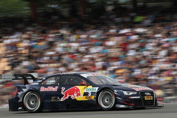 Mattias Ekström sicherte sich zum Saisonauftakt die Pole und den dritten Platz in Hockenheim - Foto: Audi