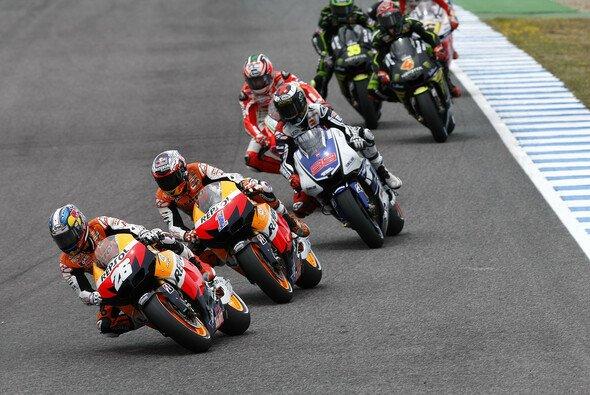In diesem Jahr konnte Casey Stoner den Sieg in Jerez bejubeln