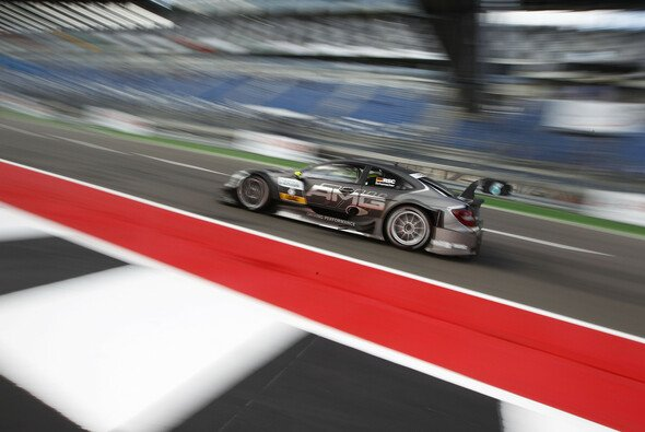 Ralf Schumacher stieg 2008 in der DTM ein - Foto: Mercedes-Benz