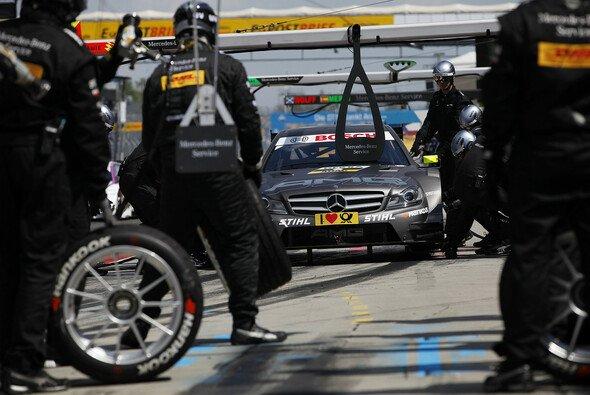 Boxen-Unfall: Schumacher trifft keine Schuld - Foto: Mercedes-Benz