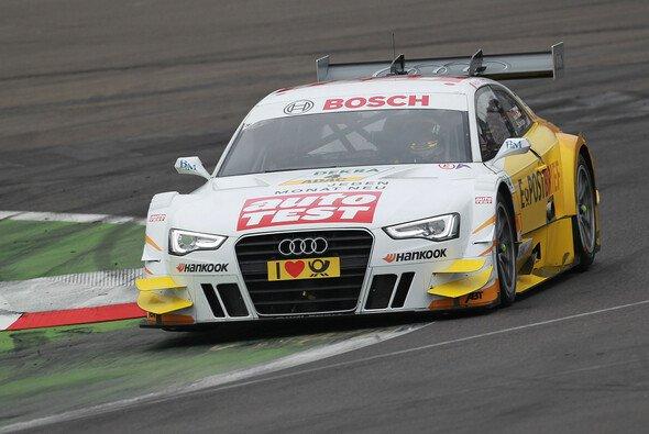 Timo Scheider war mit seinem Audi nicht wirklich zufrieden - Foto: Audi
