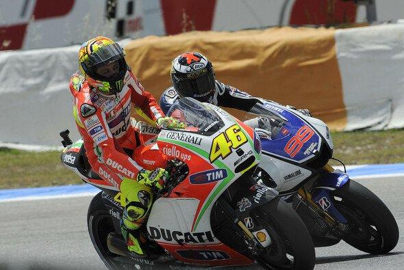 Neben den neuen Qualifikationen dürfte die Rossi-Lorenzo-Konstellation bei Yamaha die größte Spannung in der kommenden Saison versprechen