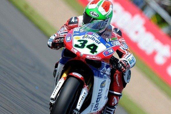 Davide Giugliano war mit seiner Ausbeute recht zufrieden - Foto: Althea Racing