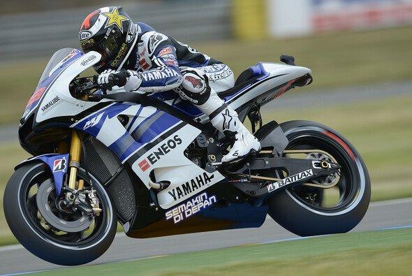 Jorge Lorenzo wollte gern in die erste Startreihe - Foto: Yamaha Factory Racing