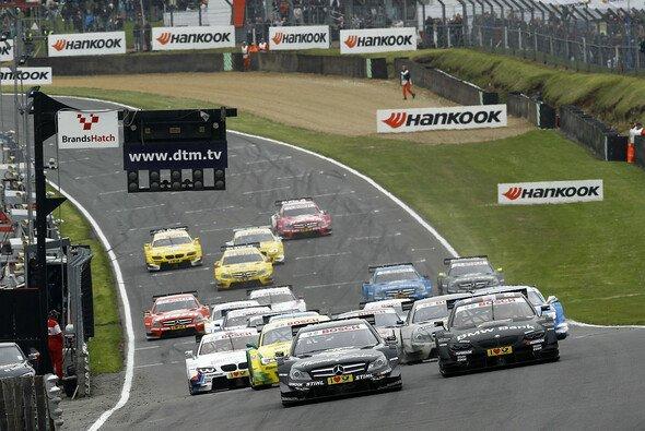 Eng, enger, Brands Hatch: 2. DTM-Runde am kommenden Wochenende - Foto: DTM