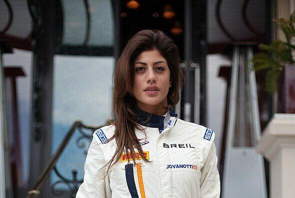 Vicky Piria ist ein gern gesehenes Gesicht im Fahrerlager