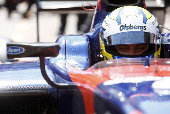 Marcus Ericsson schnappte sich in Jerez die erste Tagesbestzeit