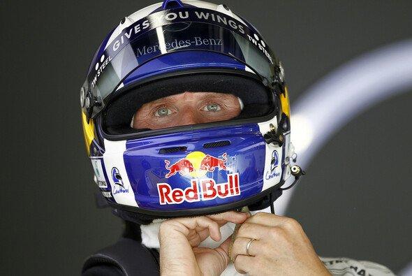 Sagt goodbye: David Coulthard wird so schnell nicht mehr ins Rennlenkrad greifen