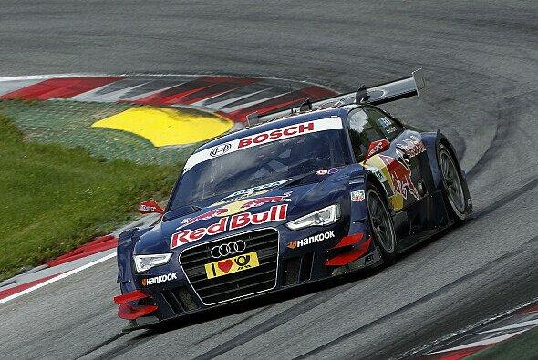 Mattias Ekström feierte bereits zwei Siege auf dem Nürburgring - Foto: DTM