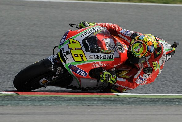 Valentino Rossi sah gute Ansätze - Foto: Milagro