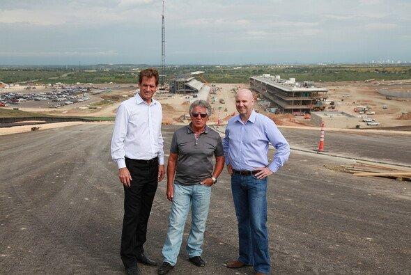 Mario Andretti hat sich auf dem Circuit of the Americas genau umgesehen