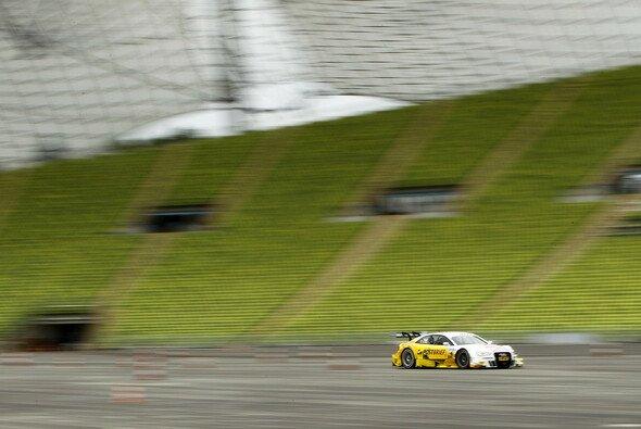 Die ersten Testrunden im Olympiastadion wurden schon gedreht - Foto: DTM