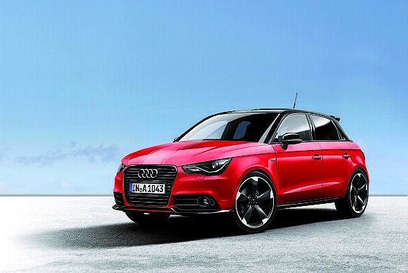 Die Edition amplified für den Audi A1 ist in drei Stufen erhältlich