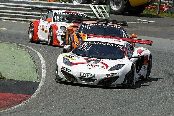 Der McLaren hatte am Sachsenring keinen einfachen Stand