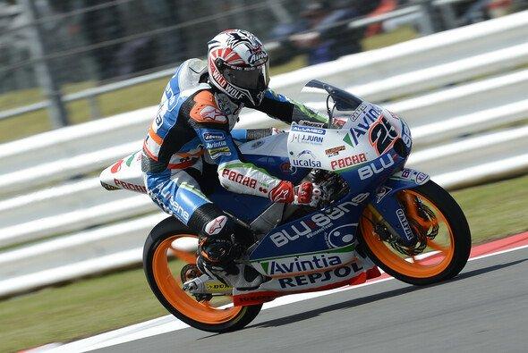Maverick Vinales hofft auf eine trockene Strecke im Moto3 Rennen