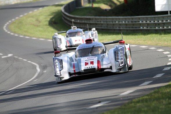 Audi feiert mit dem R18-Hybrid einen Doppelsieg