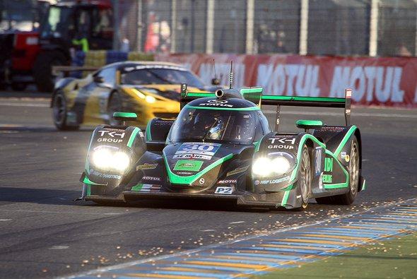Staus nahm dieses Jahr mit Yelmer Buurman, Alex Sims und Romain Iannetta in Le Mans teil