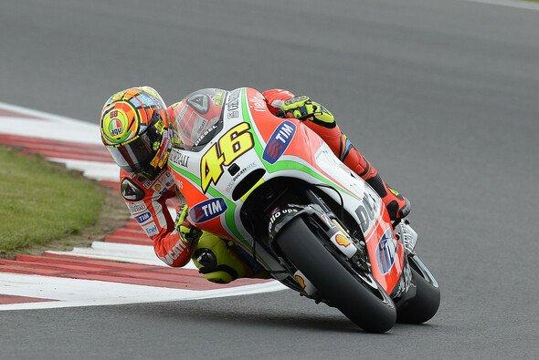 Valentino Rossi liebt den Rennsport