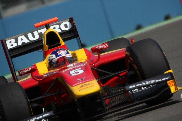 Leimer sicherte sich im Sprint von Valencia den dritten Rang - Foto: GP2 Series