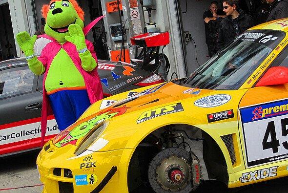 Das Maskottchen Timbuli ist auch 2013 am Nürburgring unterwegs