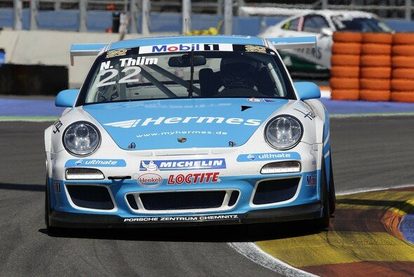 Nicki Thiim erreichte am Wochenende in Valencia den vierten Rang - Foto: Porsche