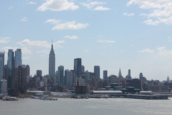 Perfekte Kulisse für ein Formel-1-Rennen: Die Manhattan Skyline