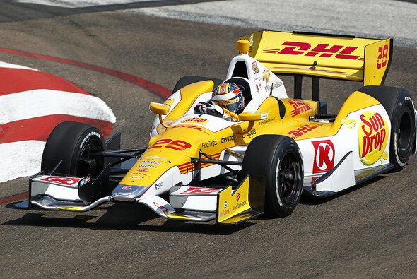 Ryan Hunter-Reay gewann in Toronto