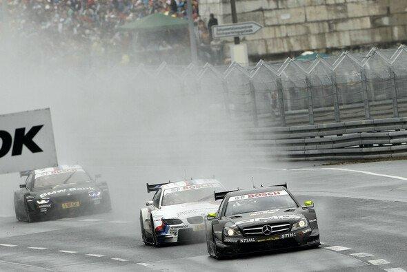 Regenrennen sind auch in der DTM das Salz in der Suppe - Foto: DTM