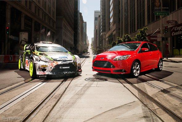 Hat den Ken-Block-Virus in sich: der neue Ford Focus ST - Foto: Tony Harmer