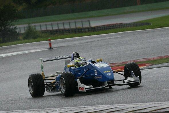Im Regen war Blomqvist nicht zu stoppen