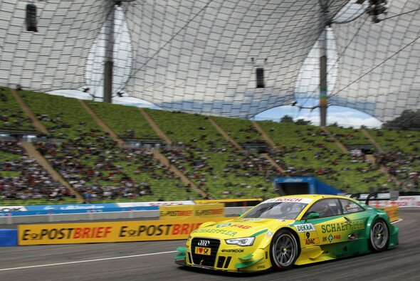 Die Tribünen in München sind nur spärlich gefüllt - Foto: Audi