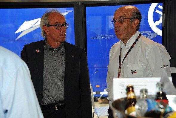Ippolito (links) ist seit 2010 Präsident der FIM